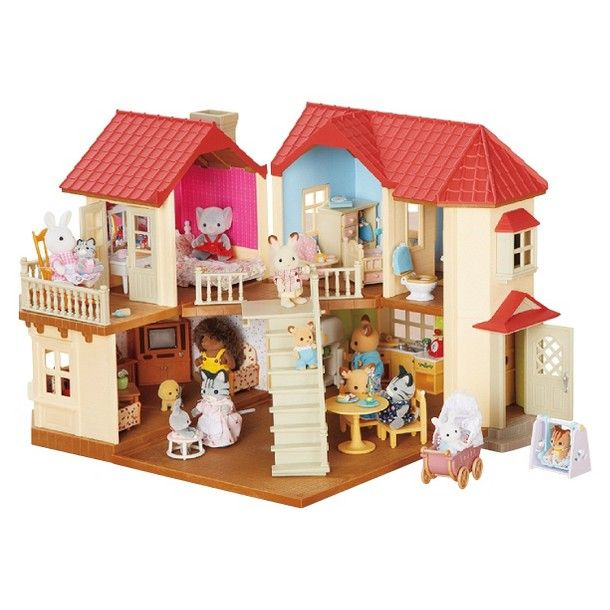 luxury townhome calico critters wallpaper joy studio