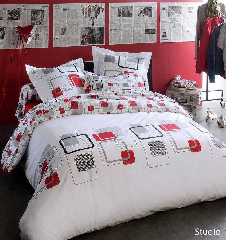 pin lit parure housse de couette 140x200cm et taie lapins cretins dodo on pinterest. Black Bedroom Furniture Sets. Home Design Ideas