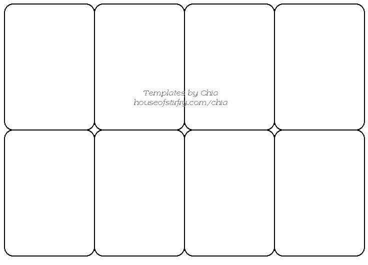 blank trading card templates | datariouruguay