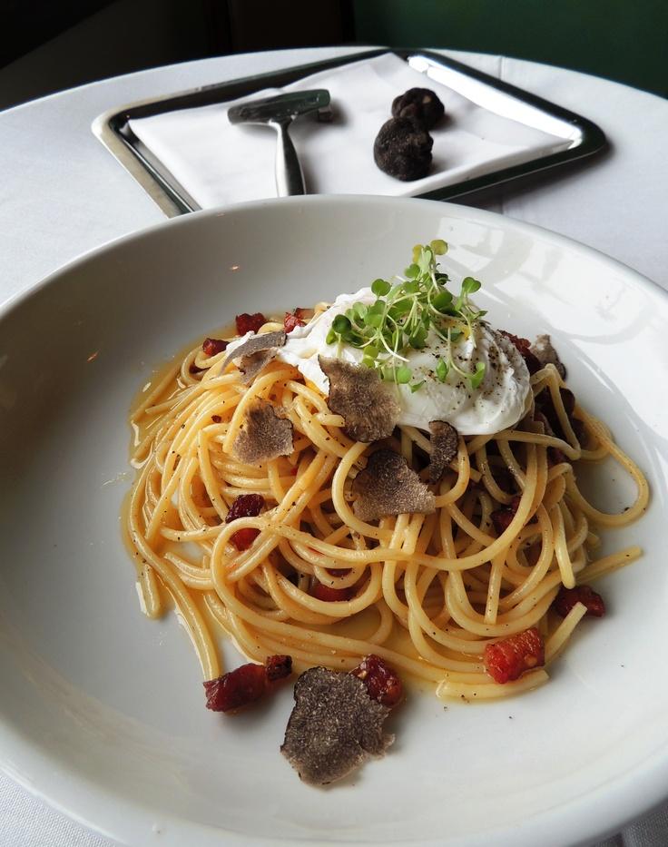 black truffles over fresh pasta black truffles over fresh pasta ...