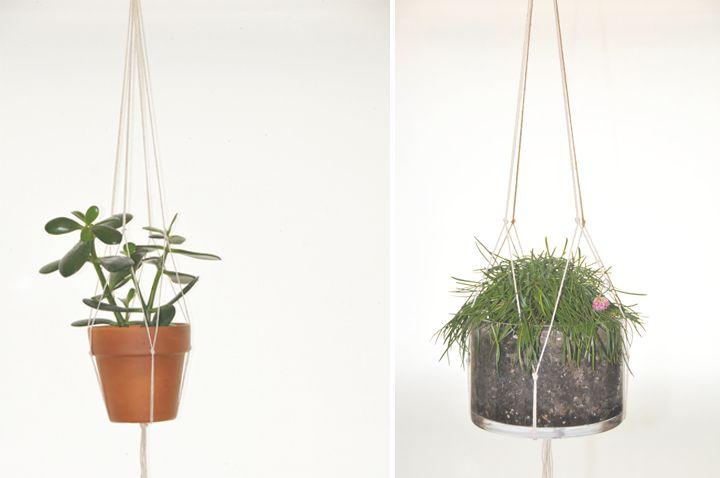 diy | hanging plant holder