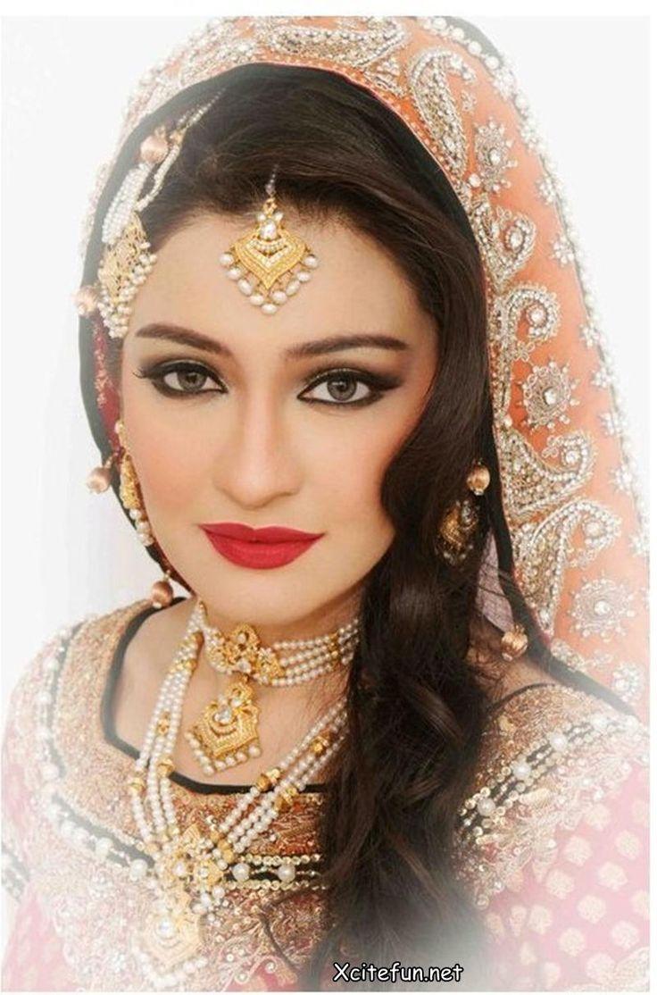 Ethnic Bridal Makeup : indian wedding makeup Ethnic makeup Pinterest