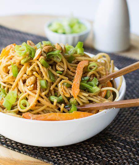 Peanut Sesame Noodles | Recipe