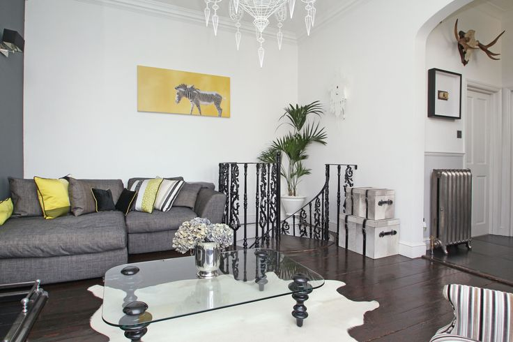 Stunning wrought iron staircase www photoplan co uk