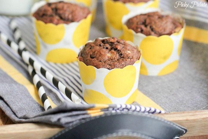 Dulce de Leche Chocolate Banana Muffins | Sweets & Treats | Pinterest