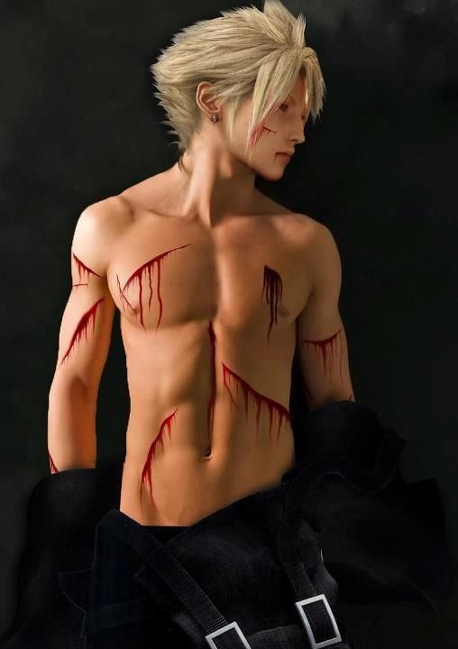 Cloud Strife Naked