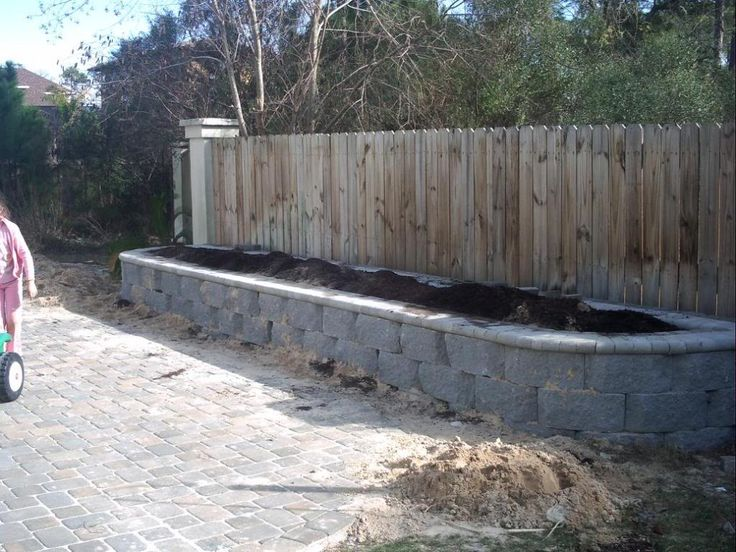 Fence line raised beds fence pinterest - Garden ideas along fence line ...