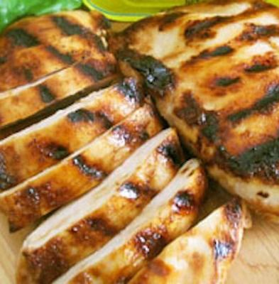 Salad - Miso grilled chicken with edamame corn salad is a summery meal ...