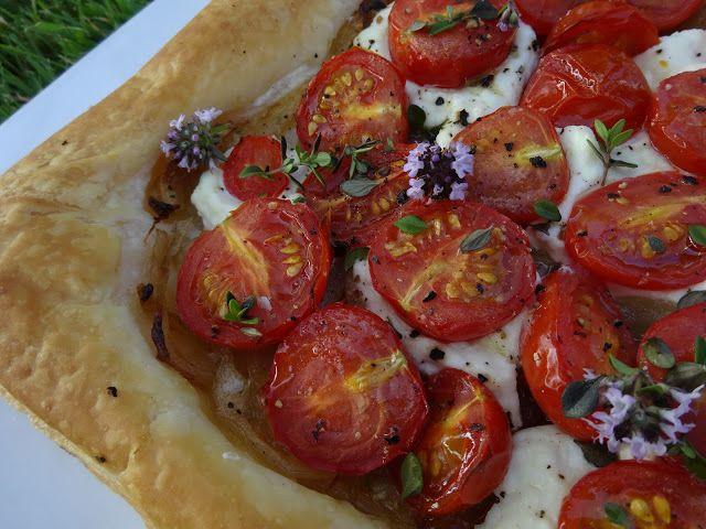 Tomato and Ricotta Tart | Amazing recipes | Pinterest