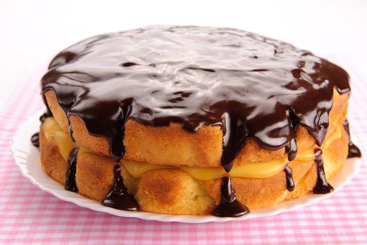 Boston Cream Pie | dessert | Pinterest