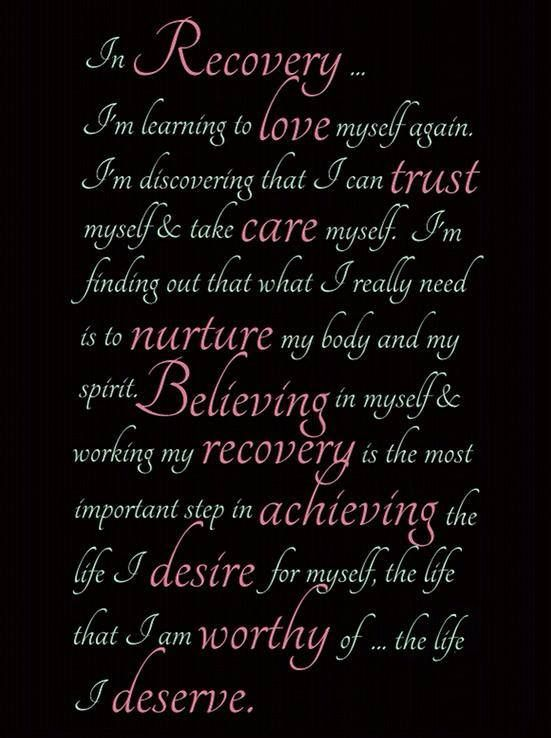 quotes about recovery ...
