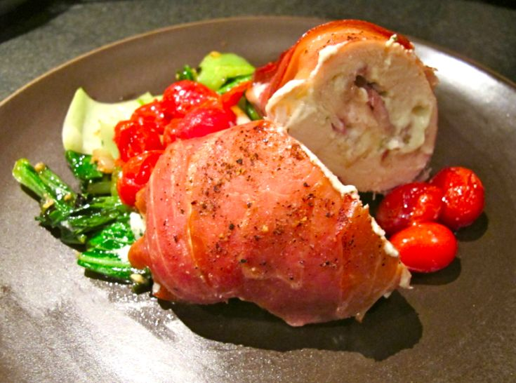 Boursin and bacon stuffed chicken breast | Yum Yums | Pinterest