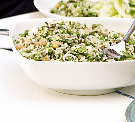 Lemony rice & peas (nice and green for st patricks day - this is what ...