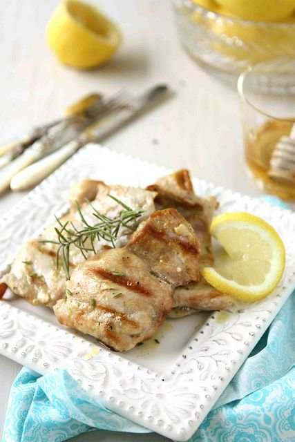 Grilled Lemon & Rosemary Chicken Recipe by CookinCanuck. My husband ...