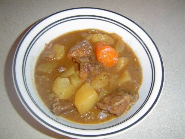This is a great Crock-Pot recipe for beef stew.