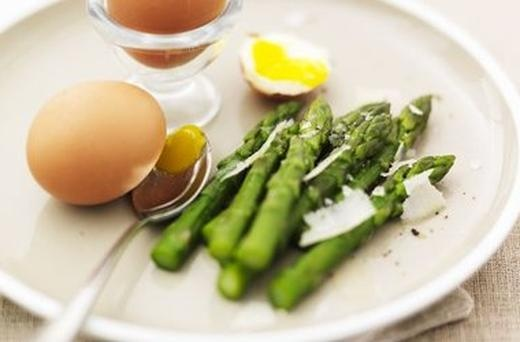 Gizzi Erksines Boiled Egg and Asparagus | Yummy Food | Pinterest