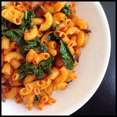 kale, tomato pasta | Favorite Recipes | Pinterest