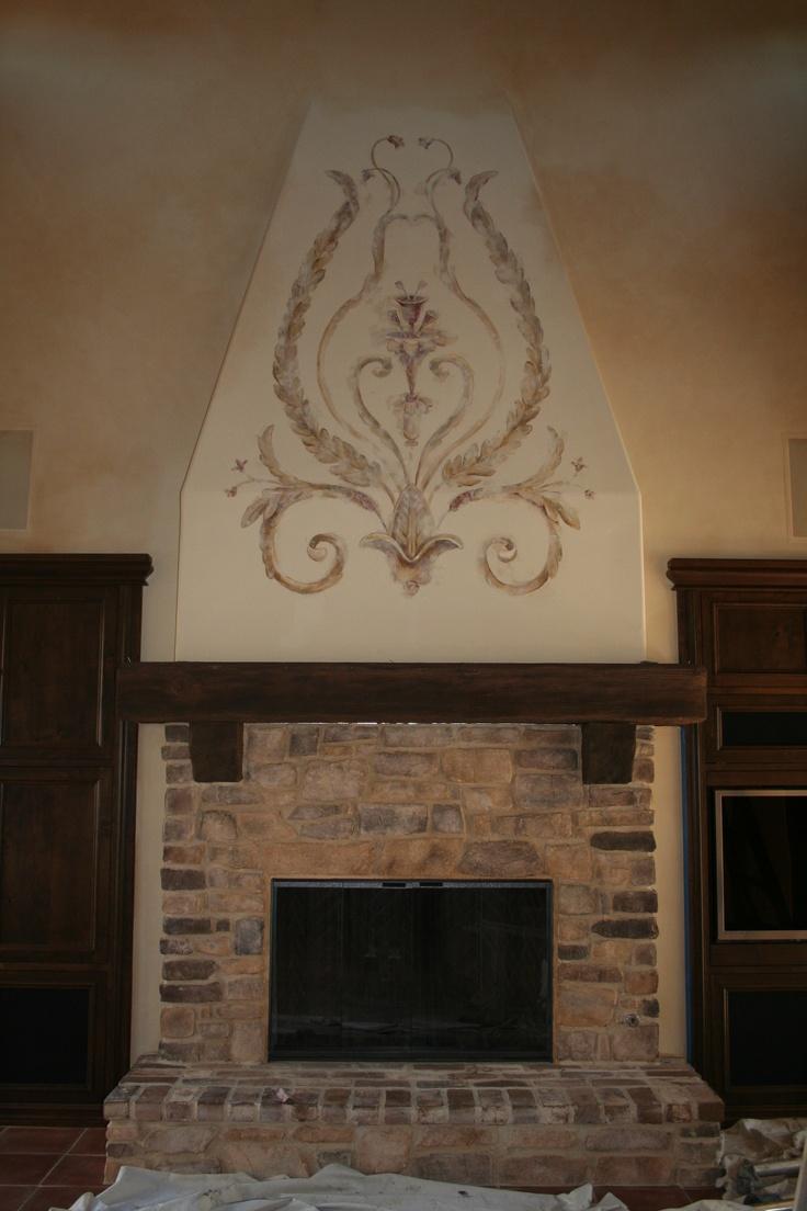 Great Tuscan Look Fireplace Italian Style Home Decor