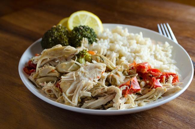 Slow Cooker Garlic Chicken | Yummy Food | Pinterest