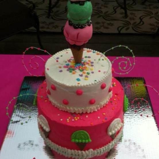 Ice Cream Themed Cake : Ice Cream Themed Cake Partyyy! Pinterest