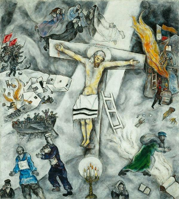 White Crucifixion. Chagall | Art | Pinterest Chagall Crucifixion