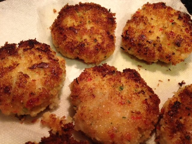 Yankee Cod Cakes with Red Pepper and Tarragon Remoulade | Grabbing the ...