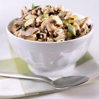 Wild Rice Stuffing - I made this but don't really like it. Some you ...