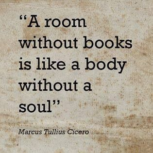 a room without books is like a body without a neocortex..
