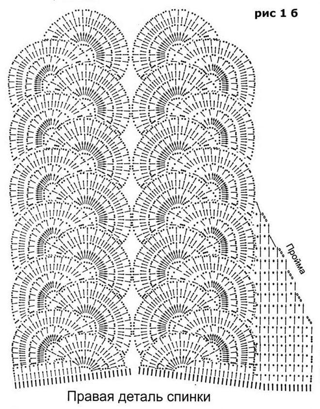 Вязание крючком из ленточного кружева крючком 7