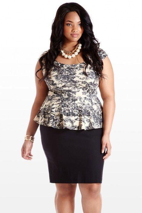 Cheap trendy clothes for plus size women, that compliments your curves