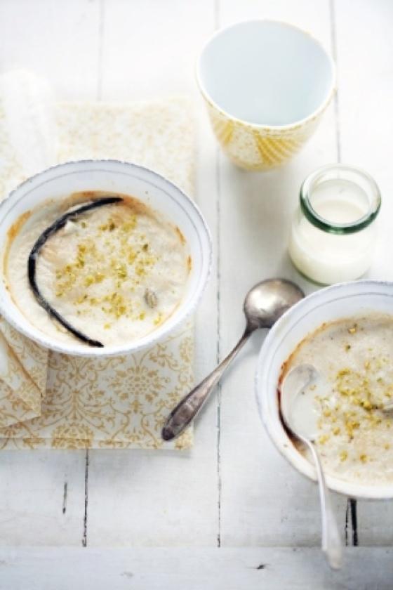Vanilla bean rice pudding | Vanilla beans | Pinterest