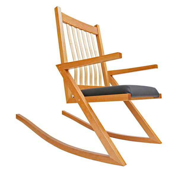 ZigZag Rocking Chair Woodworking Plan — Zero in on one key feature ...