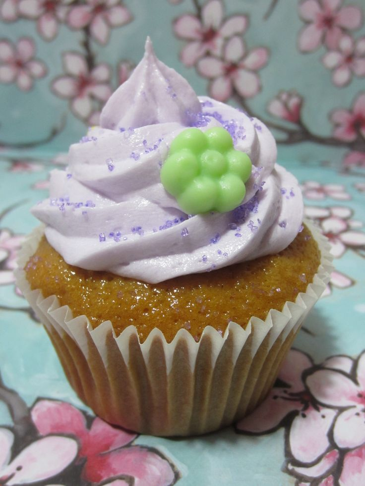 Honey Cupcakes with Lavender Buttercream. These need baked soon too!