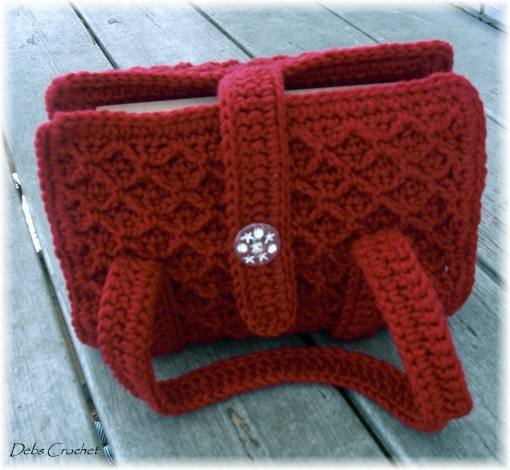 crochet Bible cover (but can be used for other literatures, such as ...
