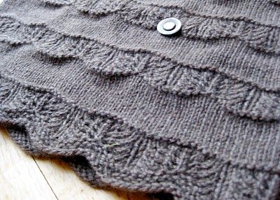 crest of the wave pattern Knit - Scrumptious Stitches Pinterest