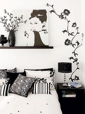 Inspirações em preto e branco.