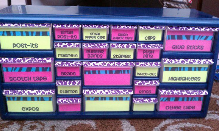 teacher toolbox.. so organized!