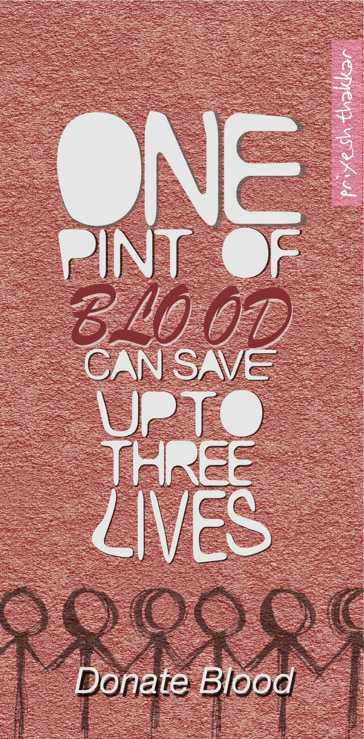 why donating blood is important Only 63% of the population has a negative blood because your blood is rare, it is important to maintain sufficient supplies for our community and local patients.