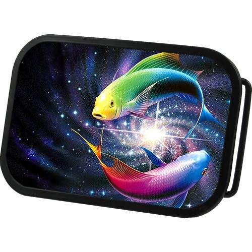 Galactical Koi Fish Belt Buckle in just $16.95