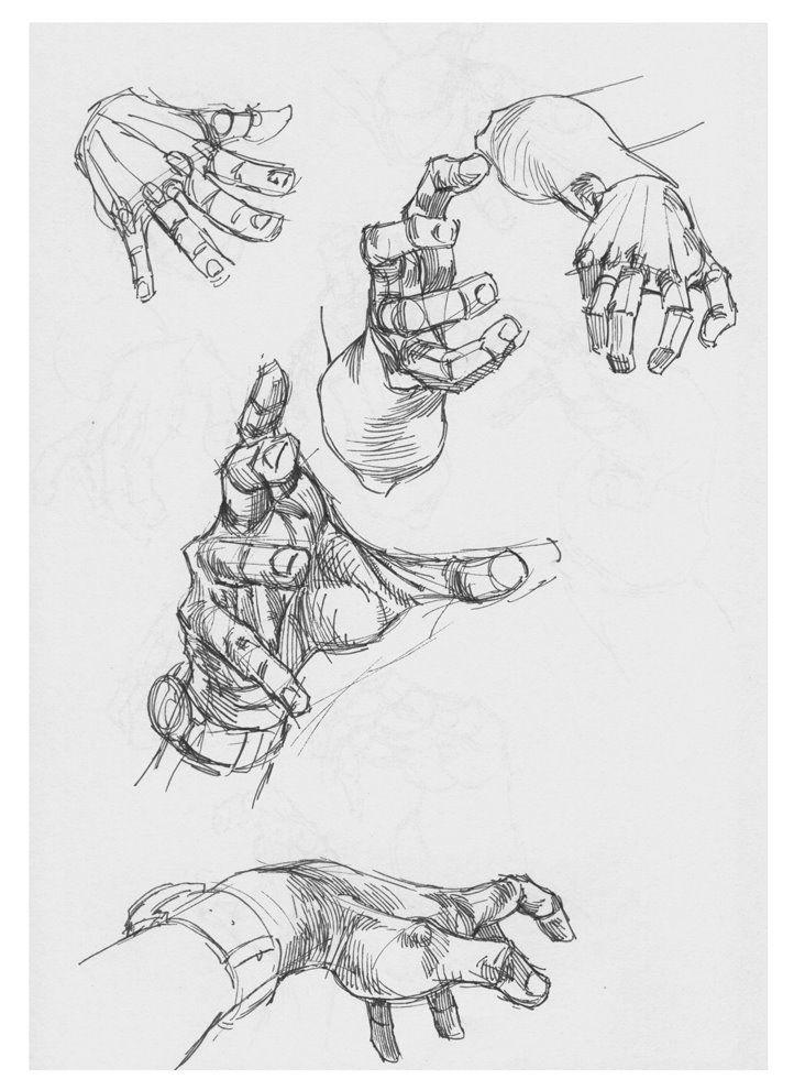 poses de las manos dinámicas