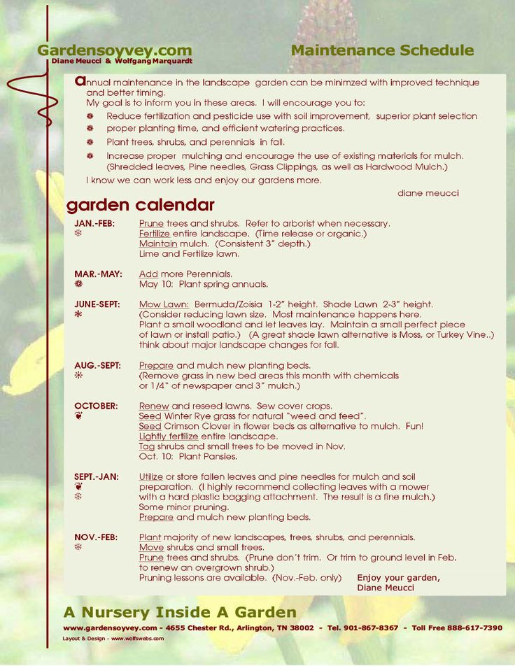monthly garden chores decks patios and more pinterest for yearly garden maintenance schedule