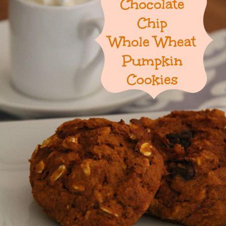 Whole Wheat Pumpkin Cookies | Desert Please | Pinterest