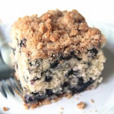 Blueberry Buckle Coffee Cake | breakfast ideas | Pinterest