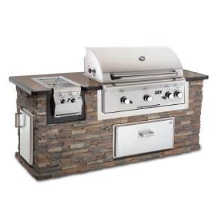 AOG 36″ Built-In Grill | Gas Logs by RH Peterson Co.