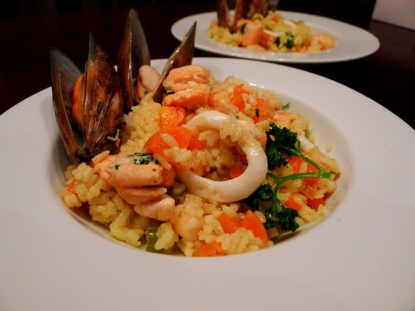 seafood risotto | Feast your Eyes | Pinterest