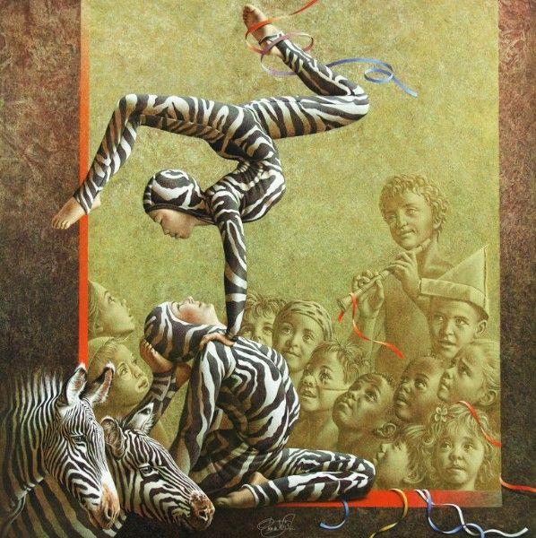 Poen de Wijs, Carnival des Animaux: Zebra