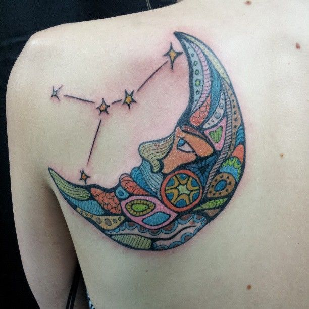 The Meaning Behind Half-Moon Tattoos