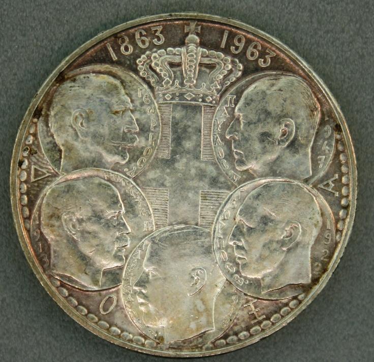 Silver Coin, foreign  Coins  Pinterest