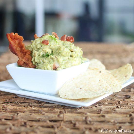 Roasted Garlic and Bacon Guacamole | Recipes | Pinterest