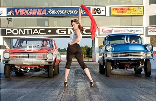 drag racing!